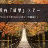 花貫渓谷「紅葉」おすすめツアー特集!