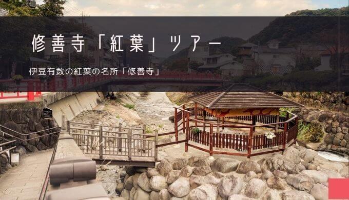 修善寺「紅葉」おすすめツアー特集!